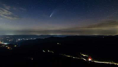 Comet NEOWISE over Hwy 211
