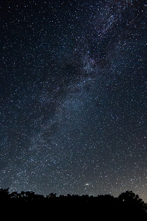 Andromeda & Milky Way