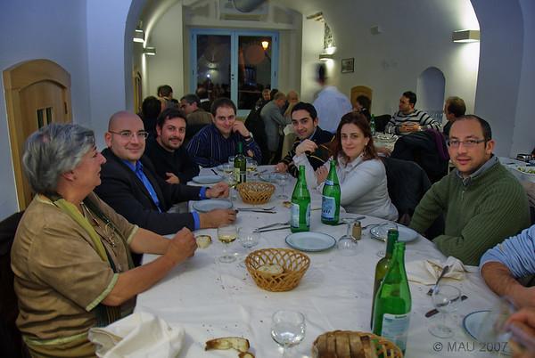 Cena de despedida - Farewell dinner