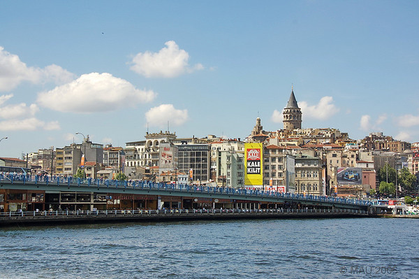 Puente y Torre Gálata - Galata Bridge and Tower