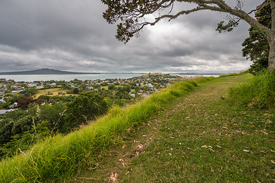 On the way to Mount Victoria