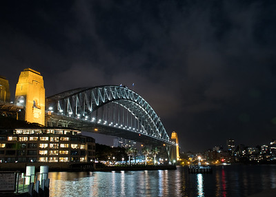 Harbor Bridge at Night