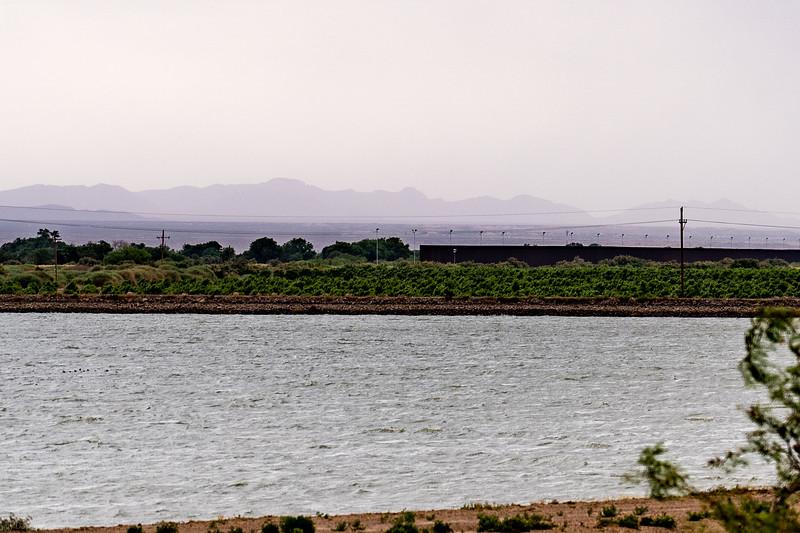 US-Mexico border, Alamo Alta, TX