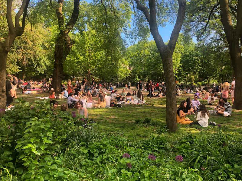 Tompkins Park, NYC