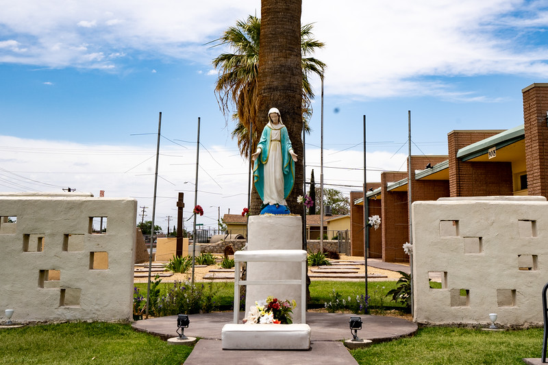 Blessed Sacrament Parish & School, where my mom served as Principal for a year and met my Dad stationed at Fort Bliss.