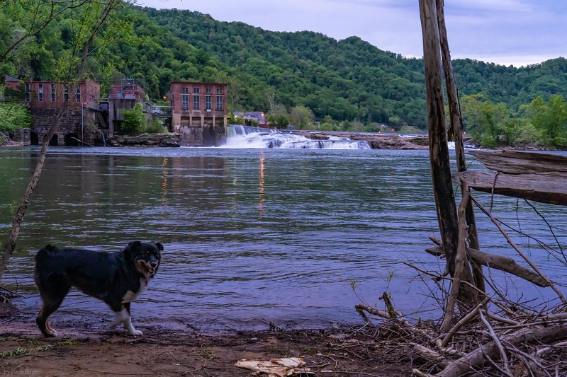 Kanawha Falls, West Virginia