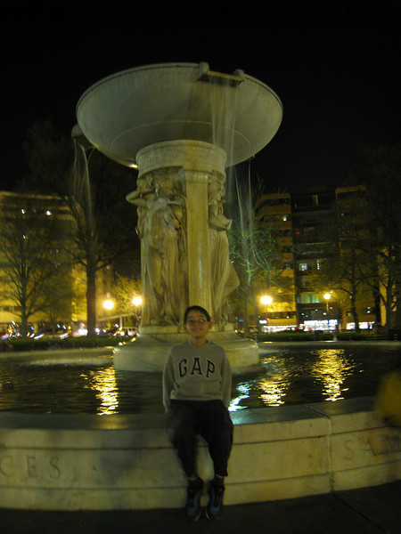 Dupont Circle's fountain