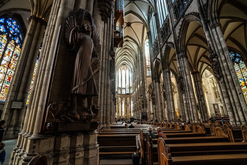 the majestic Koln Cathedral