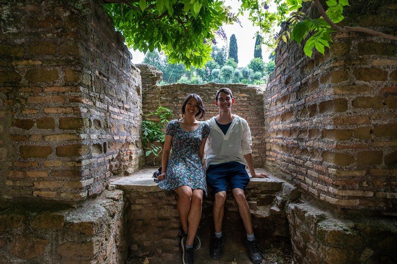 Mimi & Adrian at the Roman Forum, Rome