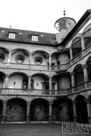 Landesmuseum Courtyard