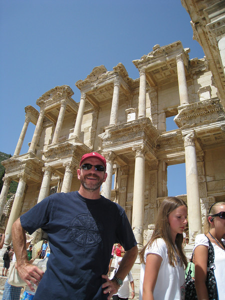 The 3-floor library of Ephesus.