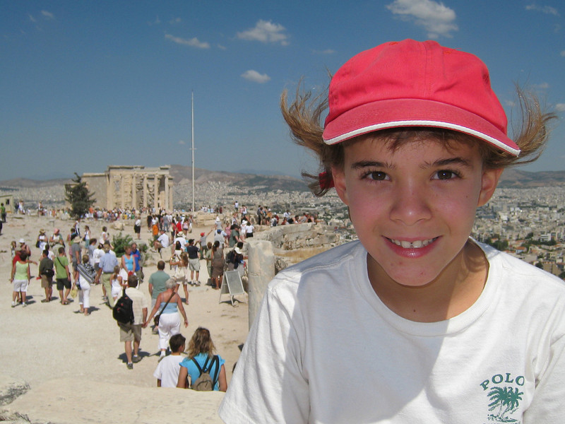 At the Acropolis, Athens.