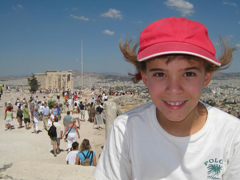 At the Acropolis, Athens.