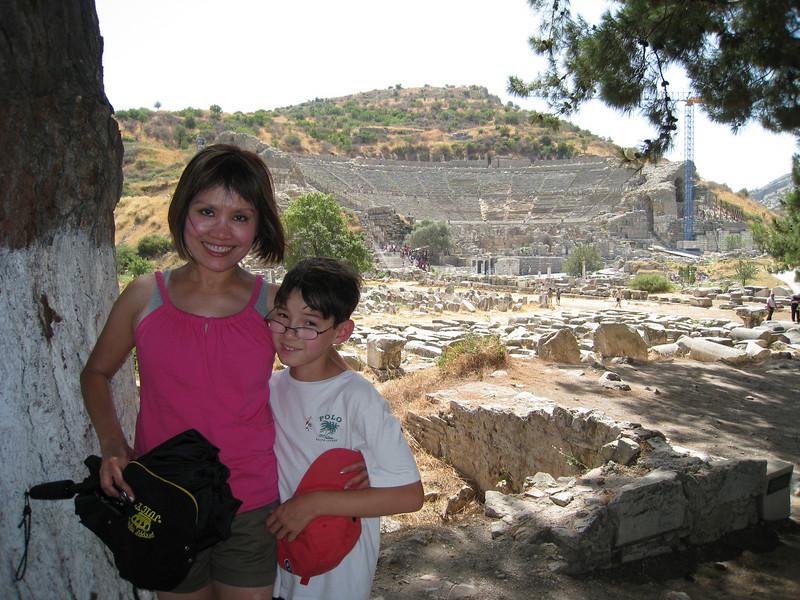 The Ephesus, 25,000-person stadium.