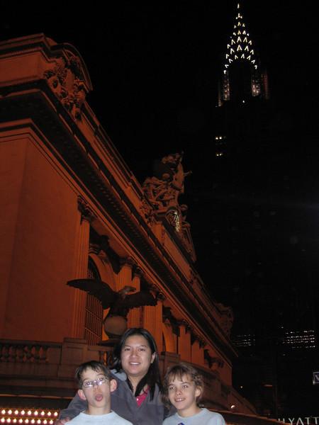 Grand Central Station & the Chrysler bldg