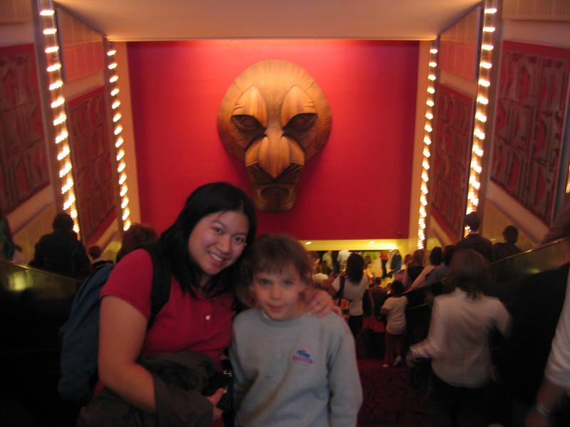 Entering Lion King