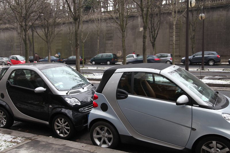 Smart cars everywhere