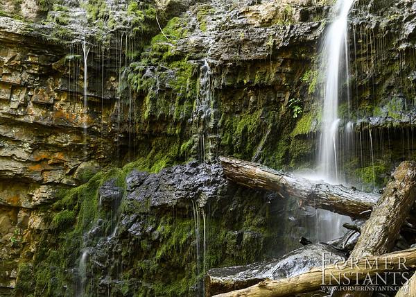 Waterfall at Ringing Rocks