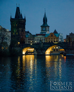 Charles Bridge on the River