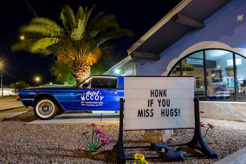 Hotel McCoy sign
