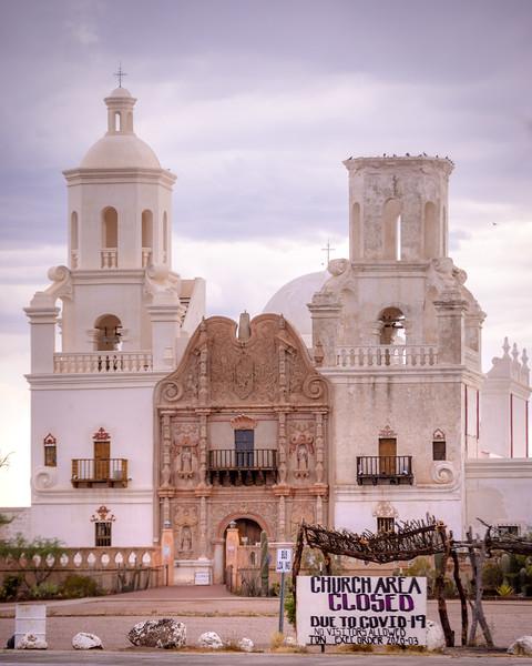 San Xavier Closure
