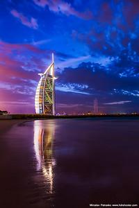 Shining Burj Al Arab