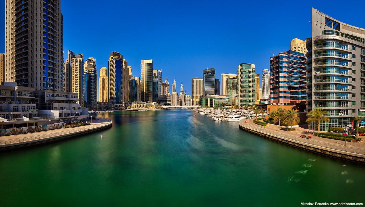 Sunny day in the Marina