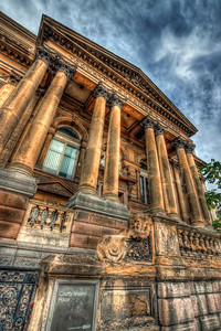 County Session House  Something from Liverpool. You can see here, that I really like my wide-angle lens and the distortion it gives to the photos :)  HDR from three shots, taken with Canon 450D with Sigma 10-20mm lens, handheld.