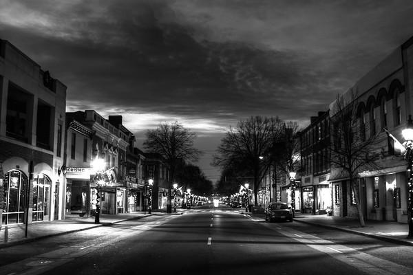 Twilight over Fredericksburg