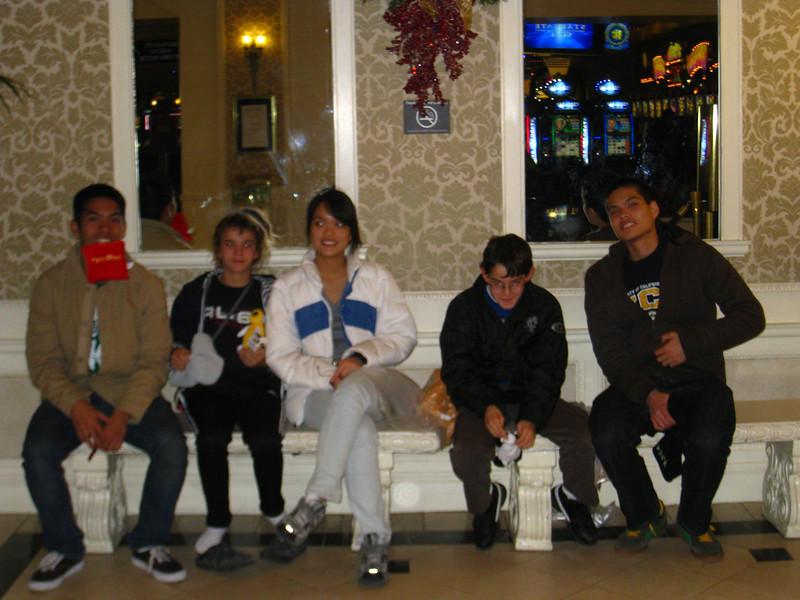 Lawrence, Alana, Tasha, Adrian, Derek