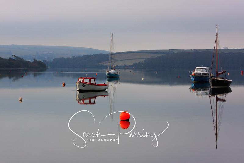 A beautiful tranquil scene at Bowcombe near Kingsbridge in Devon