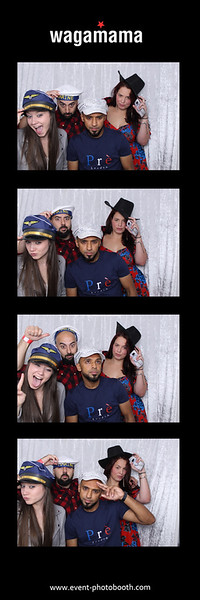 Wagamama staff summer party at The Custard Factory, Birmingham  #wagamama #custardfactory #eventphotobooth