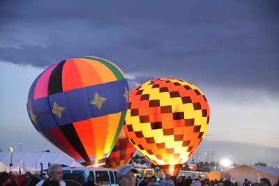 Saturday Balloon Glow, Sunset and Fireworks