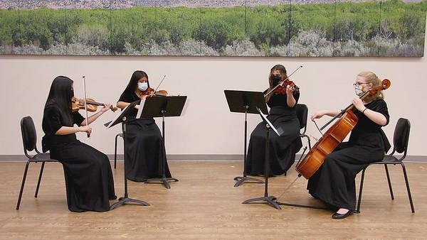 Borodin String Quartet 2, Movement 1