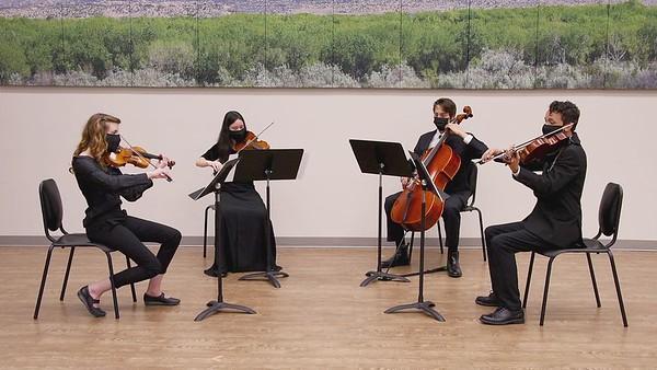 Gliere String Quartet 2, Movement 2