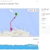 Anaya's & Coach Angela's route for June 2016 Alcatraz - San Francisco, CA, USA