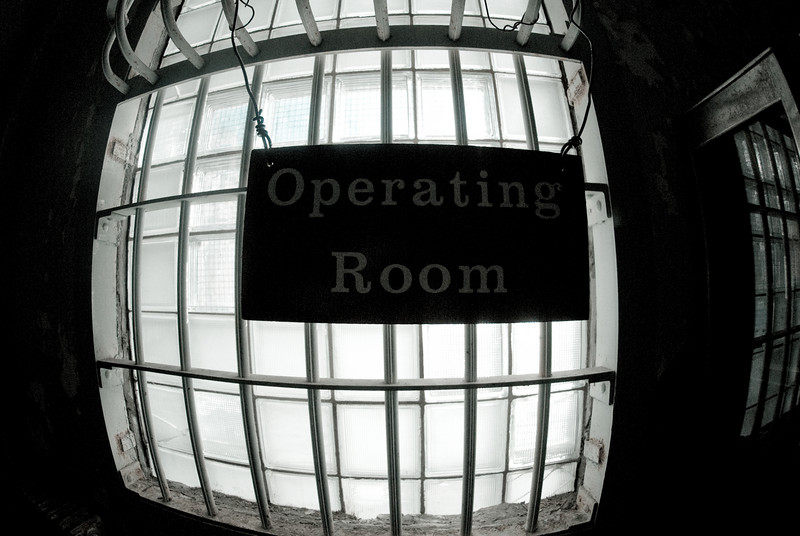 Operating Room Sign