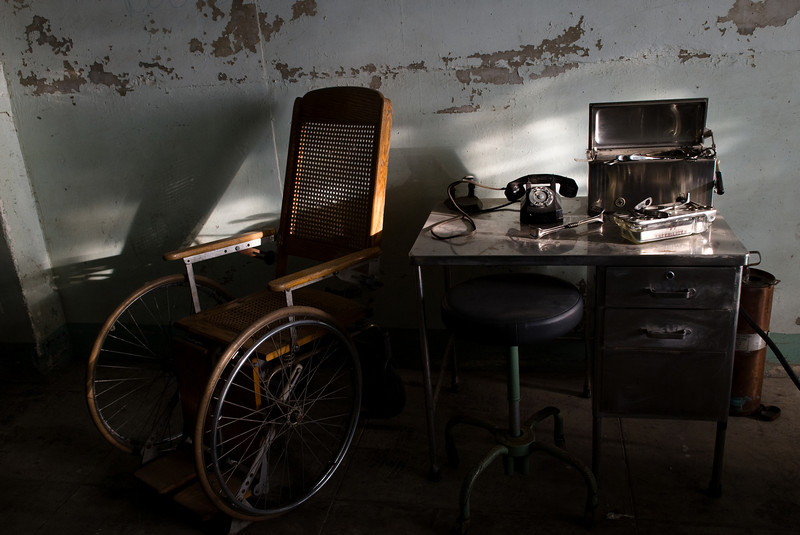Wheelchair and Desk