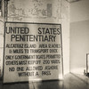 U.S. Penitentiary Warning Sign