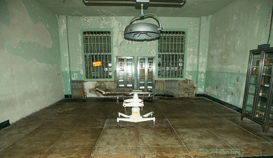 The operating room where one escape attemptee died.