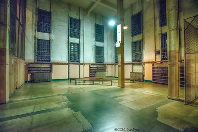 "The prison library. In 1962, the recipe for making of the paper mache dummy heads was found in a Popular Mechanics book in this library, which led to the escape by Frank and Clarence Anglin and Frank Lee Morris and was immortalized in the movie ""Escape from Alcatraz"", starring Clint Eastwood."