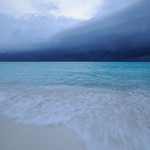 Approaching storm, Aldabra