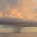Rain cloud, Aldabra