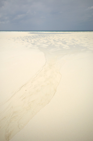 Sand and sky, Aldabra