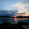 Thorpeness sunset