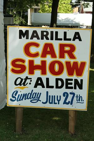 2014  Alden / Marilla Car Show