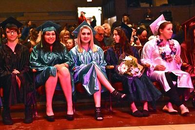Smiles before graduating. José Quezada—For Times-Standard