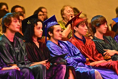 Rapt attention given Kaitlyn Guynn as she sang Halelujah. José Quezada—For Times-Standard