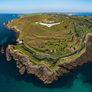 Essex Castle headland, Alderney