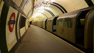 Aldwych disused Tube Station 2016.